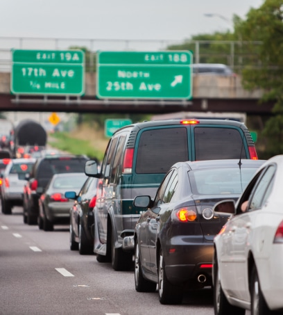 Is your daily commute under 330 miles?